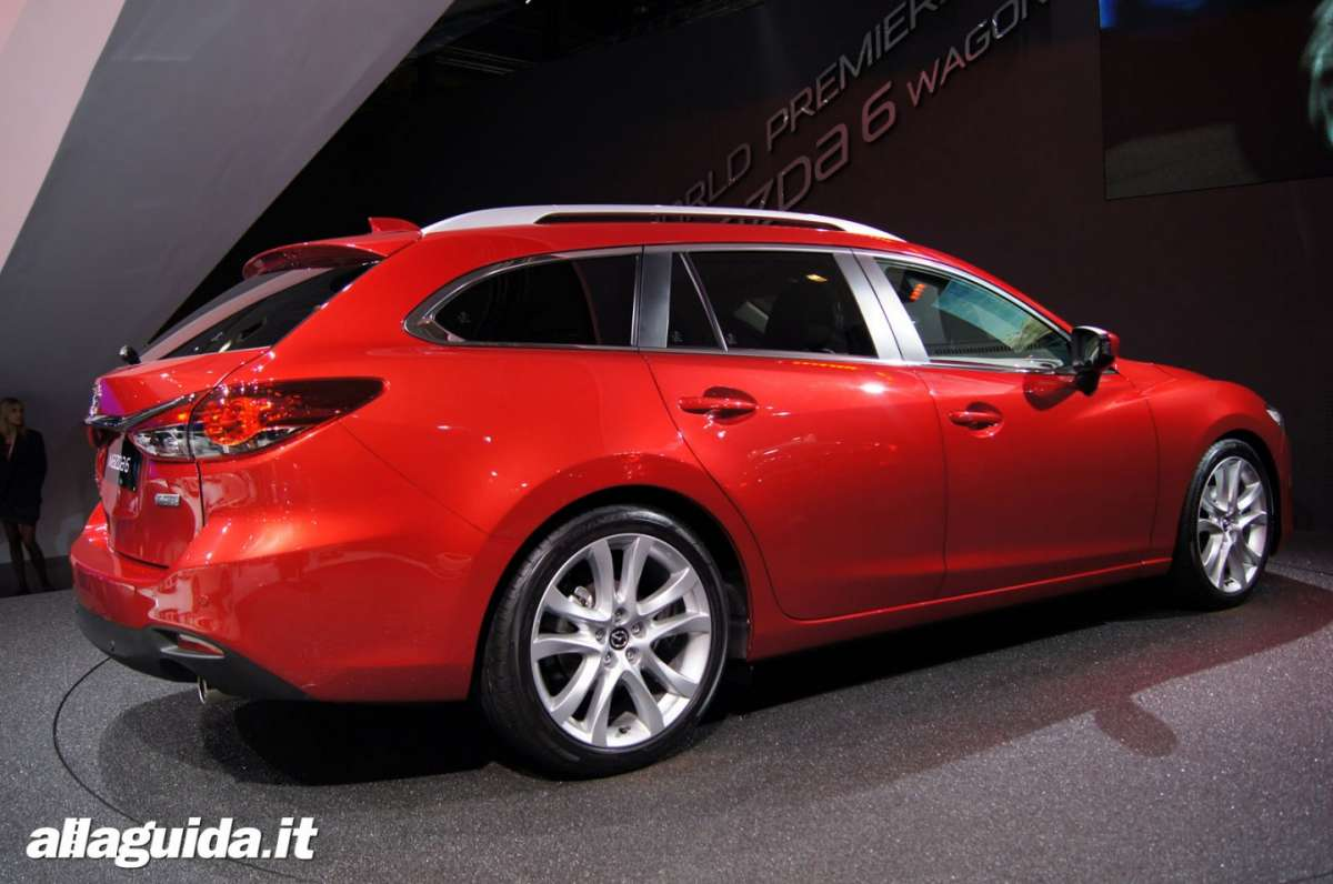Mazda 6 station wagon, Salone di Parigi 2012 - 08