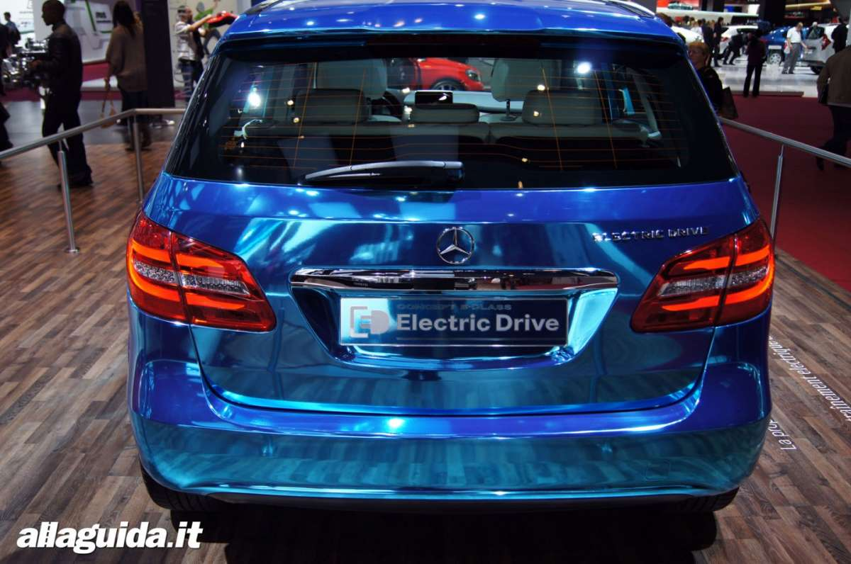 Mercedes Classe B Electric Drive, Salone di Parigi 2012 - 06