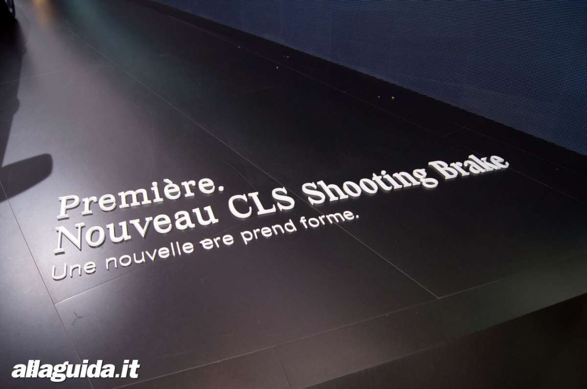 Mercedes CLS Shooting Brake, Salone di Parigi 2012 - 04