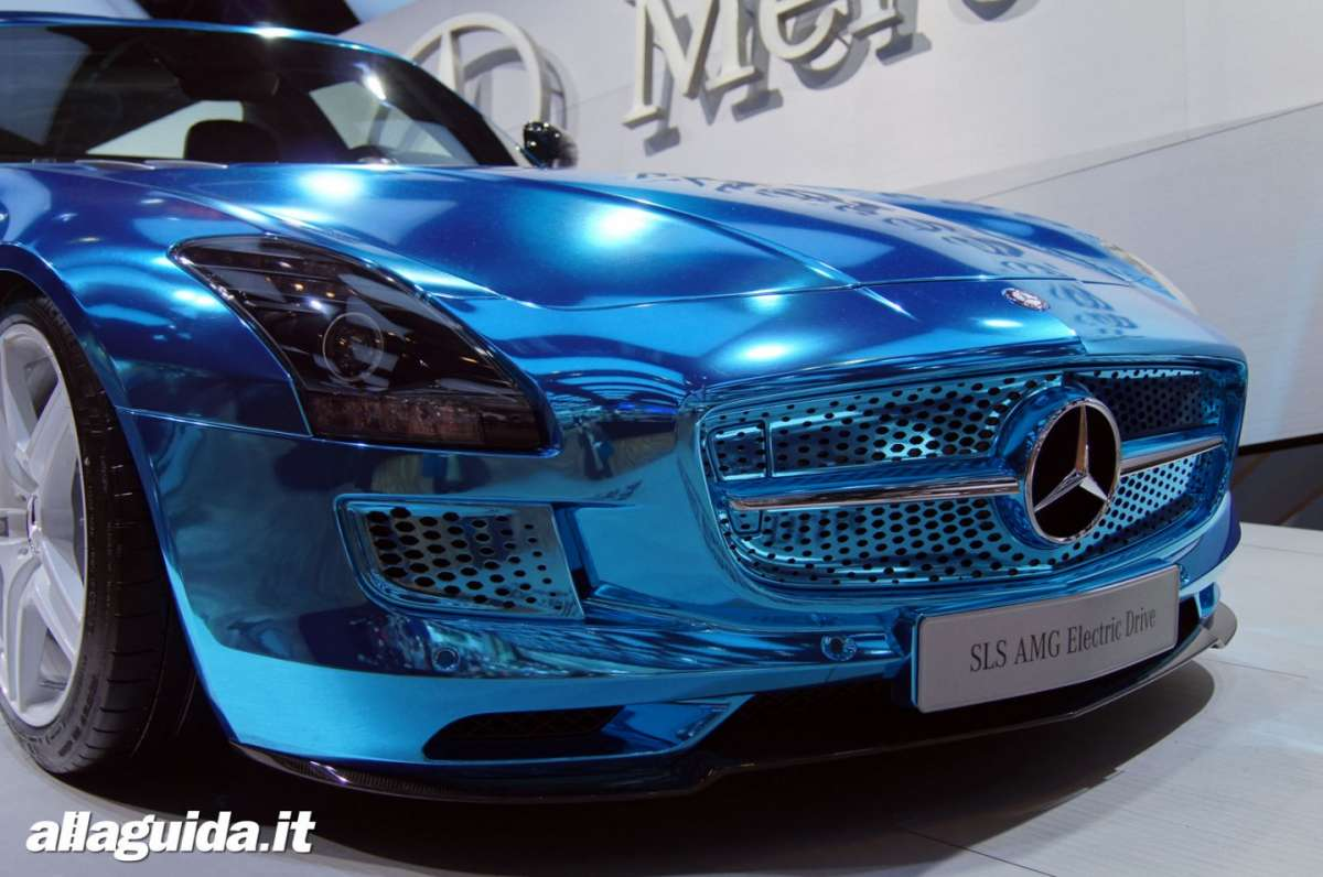 Mercedes SLS Electric Drive, Salone di Parigi 2012 - 03