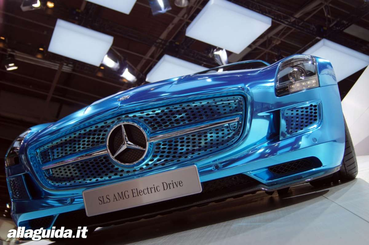 Mercedes SLS Electric Drive, Salone di Parigi 2012 - 07