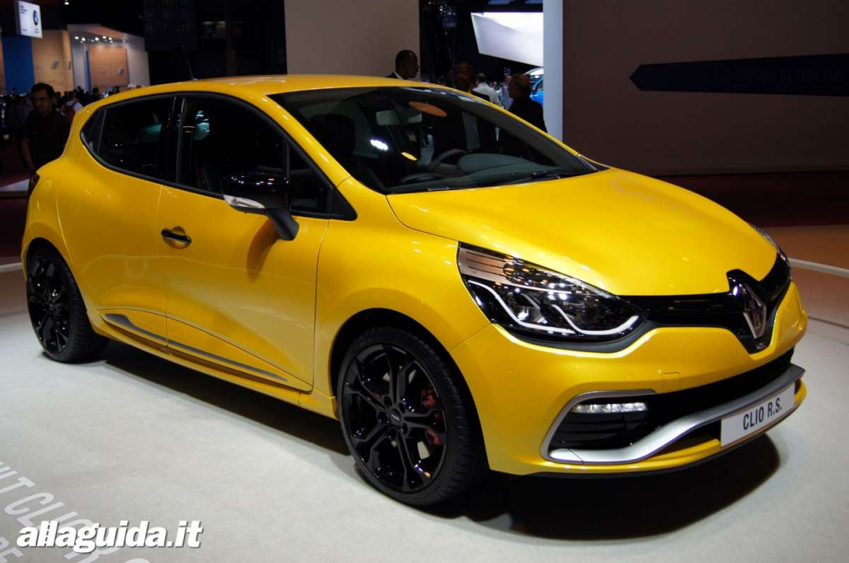 Renault Clio RS200 Turbo, Salone di Parigi 2012 - 13