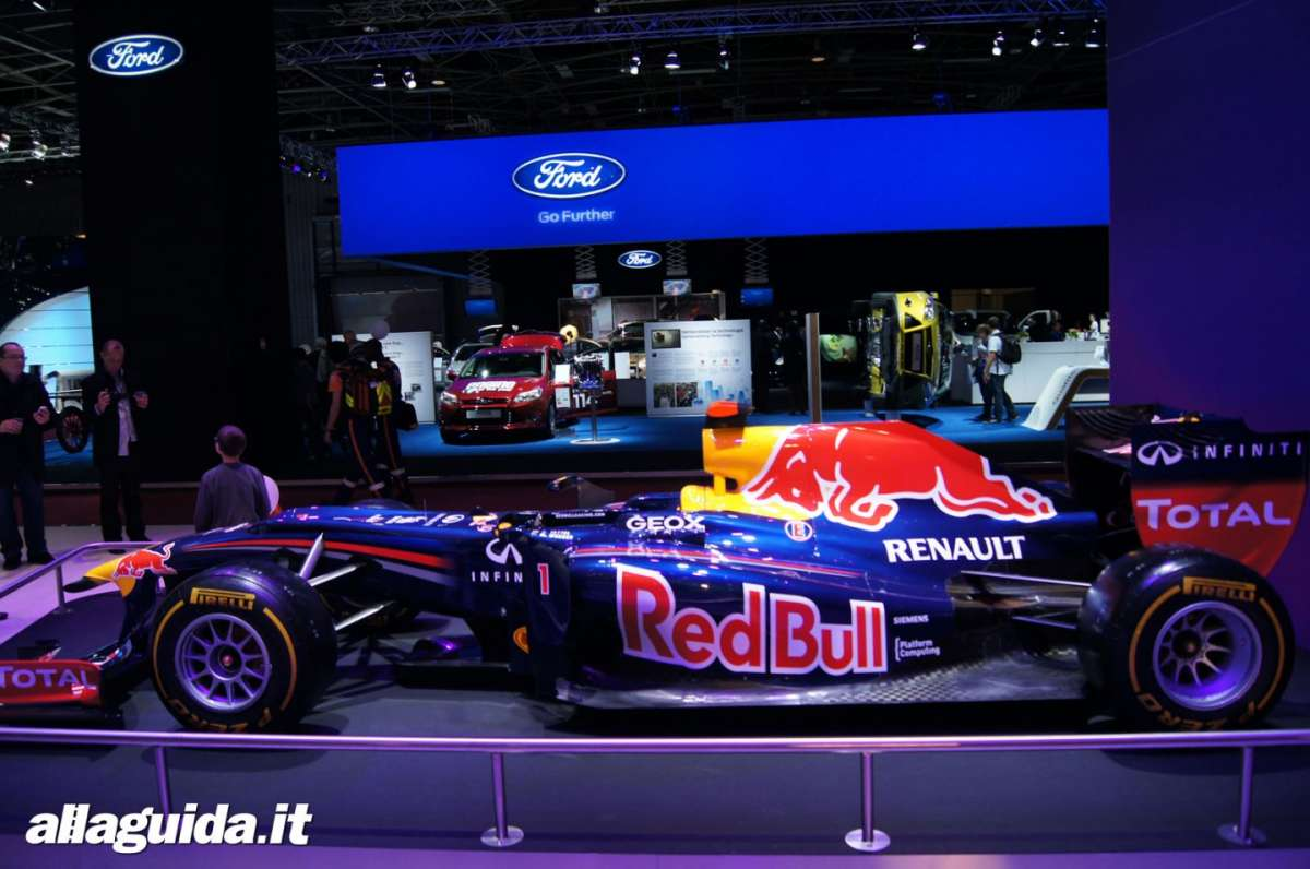 Red Bull F1 2011, Salone di Parigi 2012