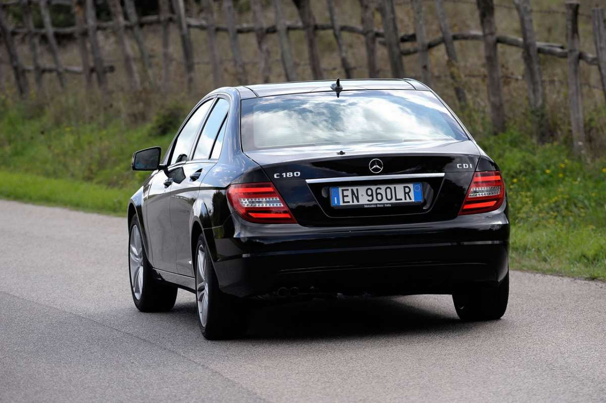 Mercedes C 180 CDI BlueEFFICIENCY posteriore