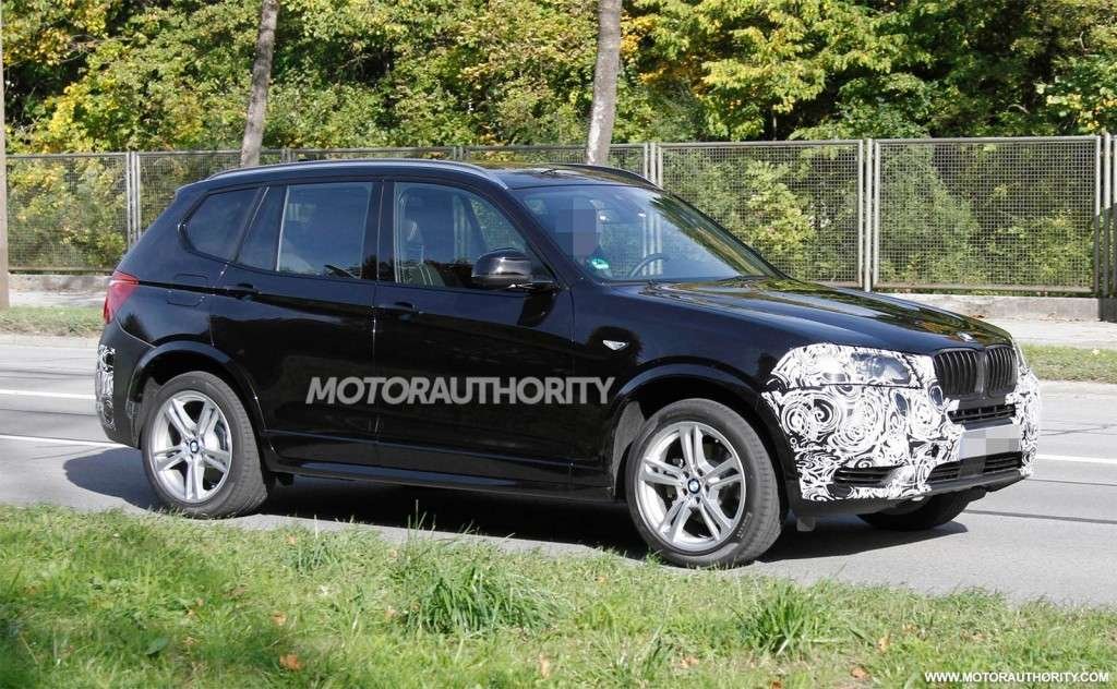 BMW X3 2013 restyling laterale