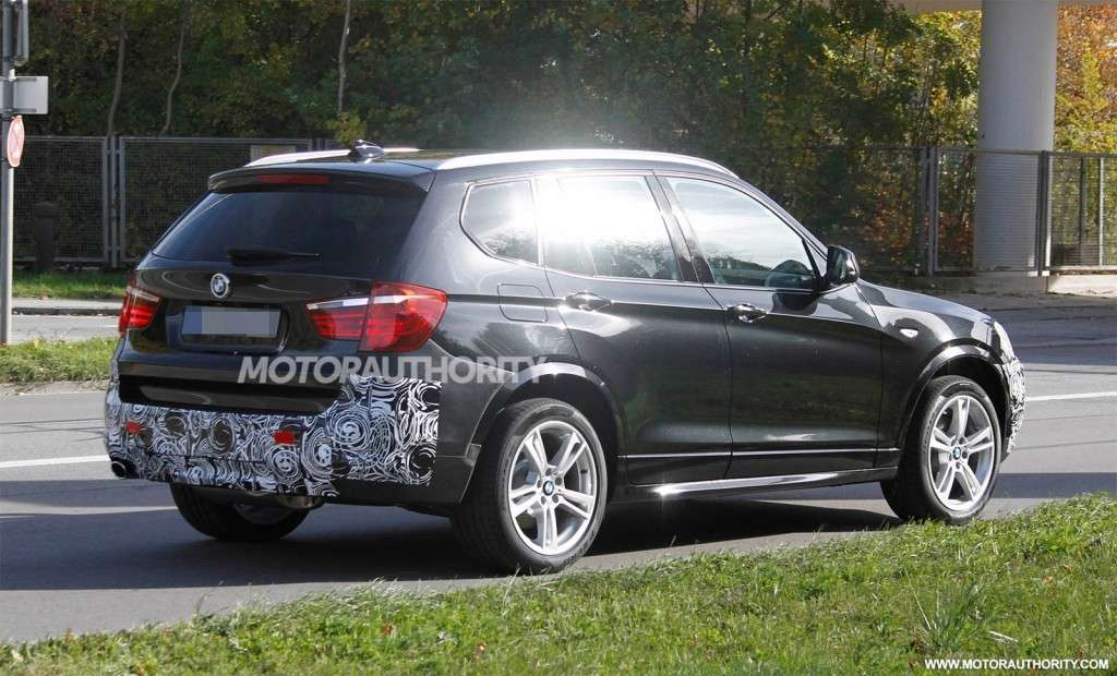 BMW X3 2013 restyling posteriore