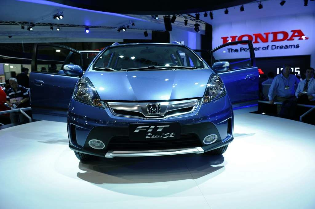 Honda Fit Twist, Salone di San Paolo 2012