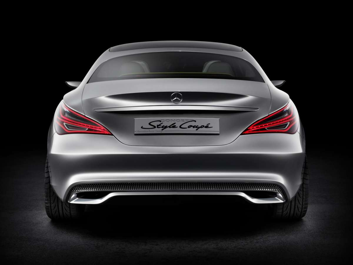 Mercedes Concept Style Coupe, retro
