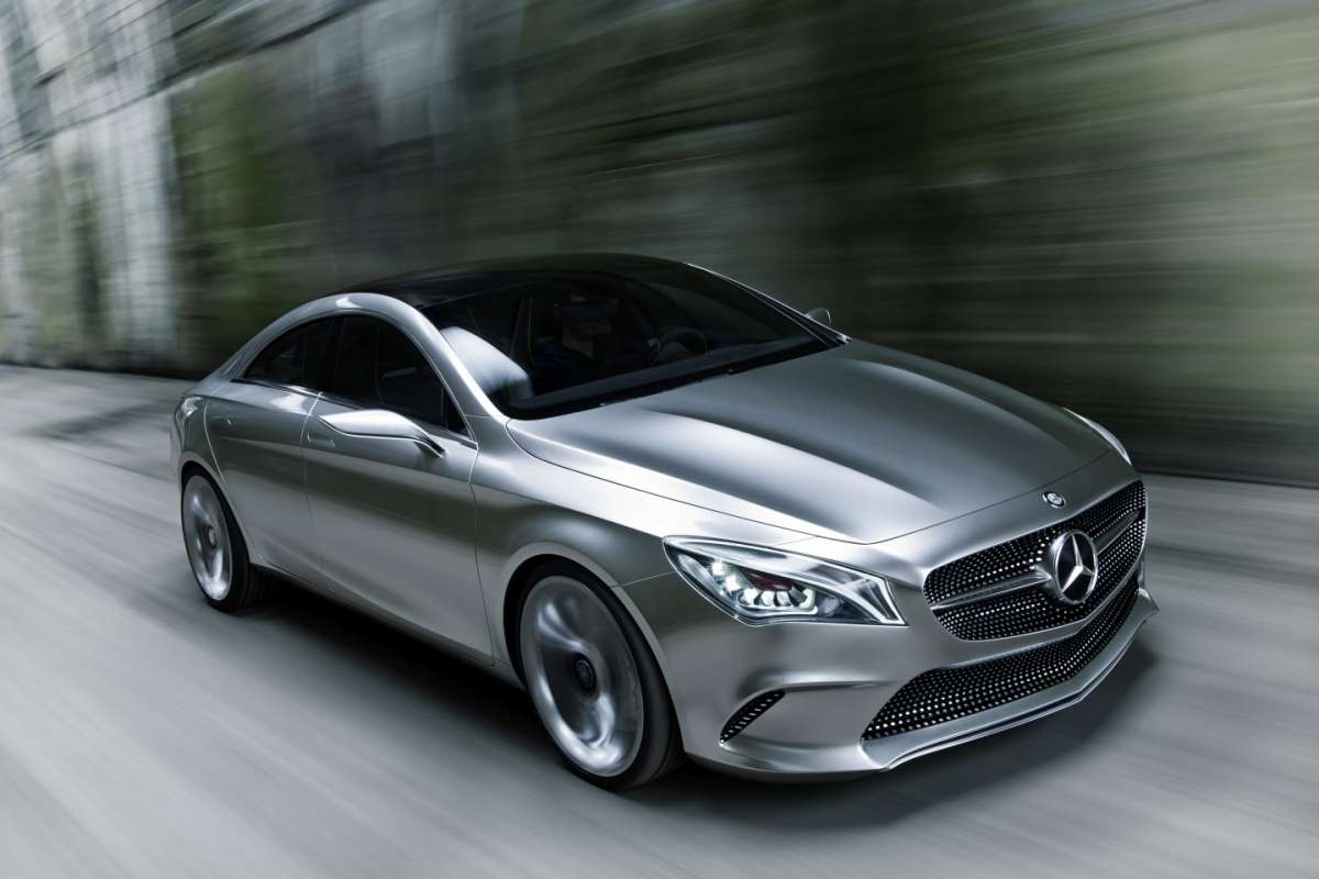 Mercedes Concept Style Coupe, laterale