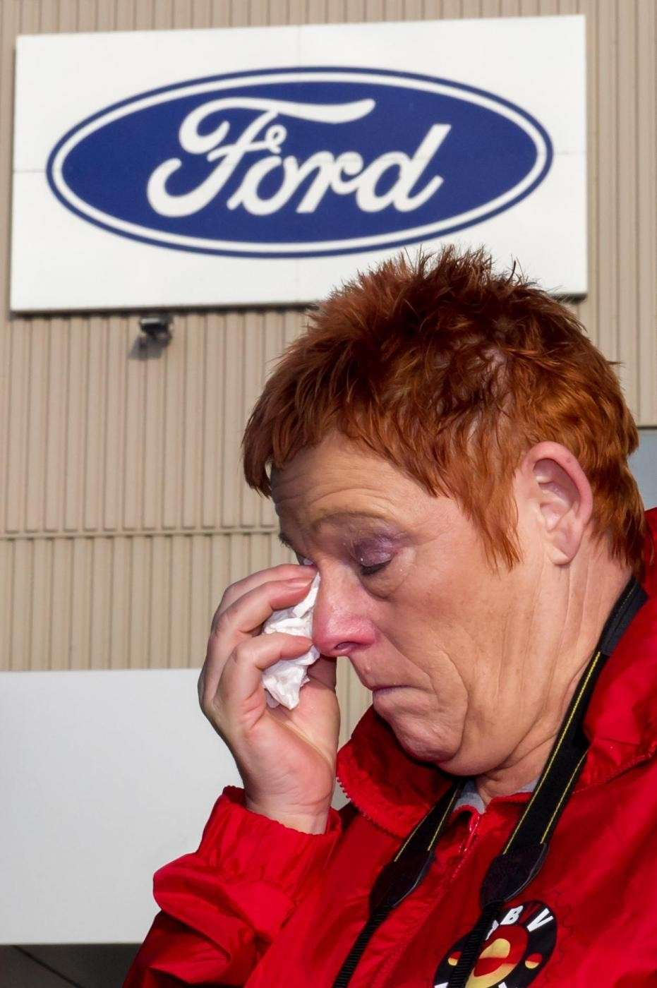 Ford chiude stabilimento in Belgio a Genk (5)