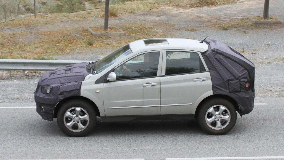Ssangyong Actyon laterale