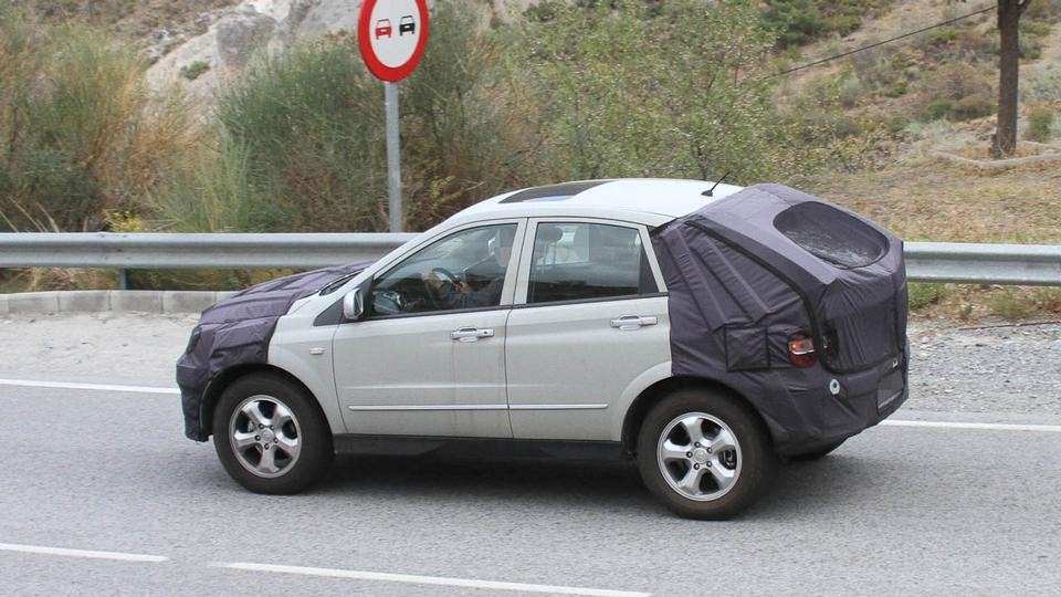 Ssangyong Actyon parte laterale