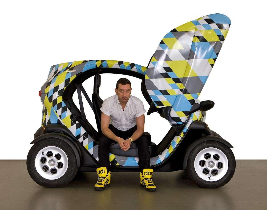 Renault Twizy Picasso Edition laterale