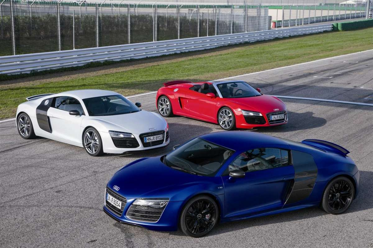 Audi R8 2013, restyling