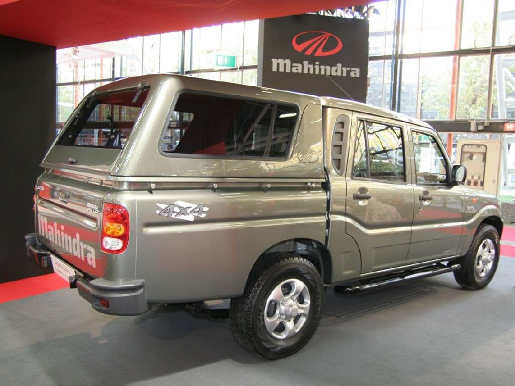 Mahindra Goa Pick Up cassone chiuso