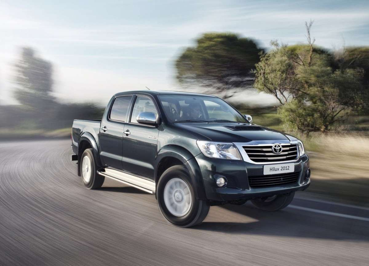 Toyota Hilux 2012 frontale