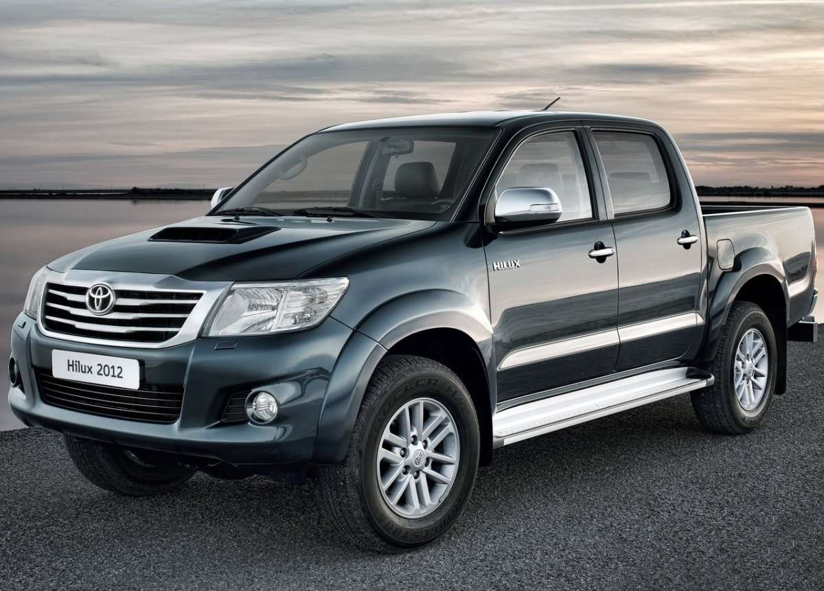 Toyota Hilux 2012 verde