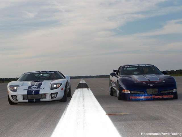 Ford GT Performance Power Racing muso