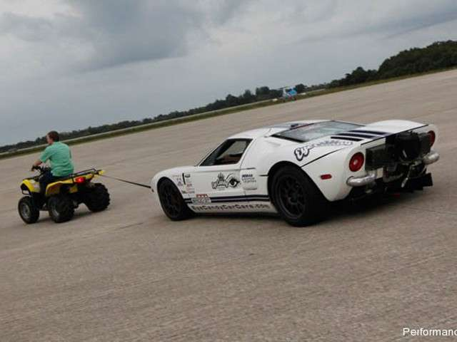 Ford GT Performance Power Racing posteriore