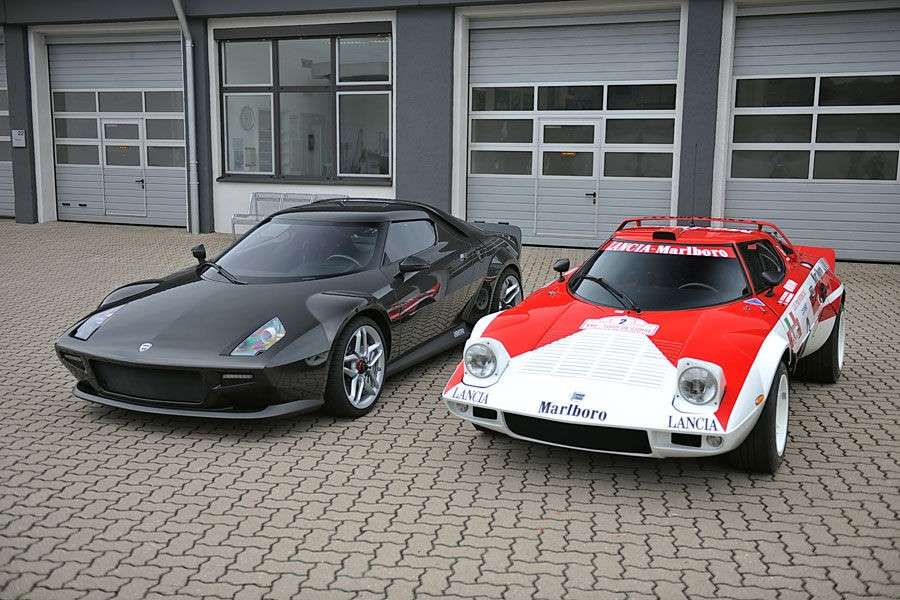 Lancia Strato's new and old