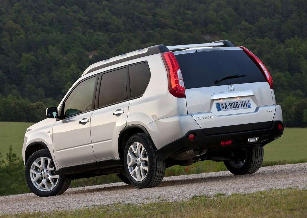 Nissan X-Trail posteriore