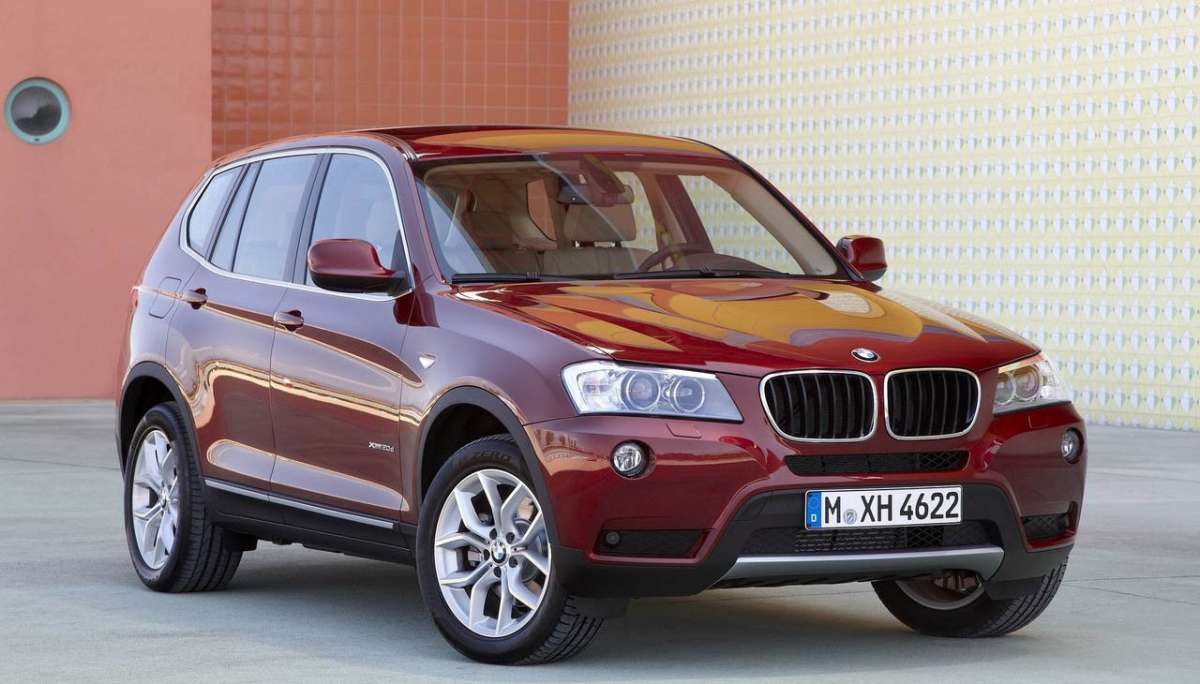 Bmw X3 2012 laterale muso