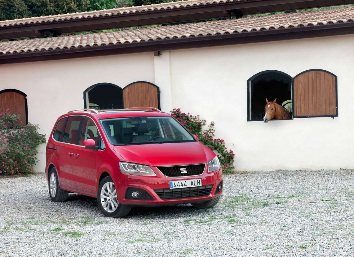 Seat Alhambra 2012 frontale