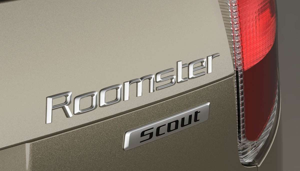 Skoda Roomster 2012 Scout logo