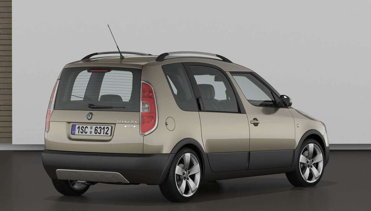 Skoda Roomster 2012 Scout posteriore