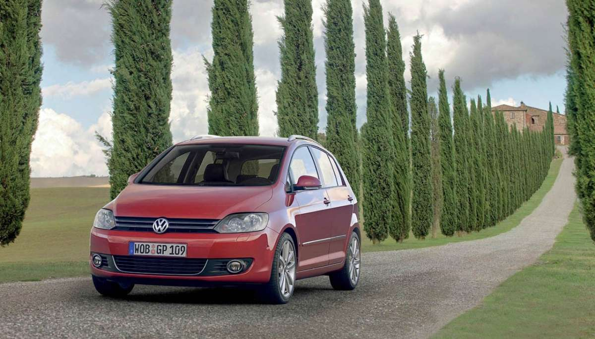 Volkswagen Golf Plus 2012 anteriore