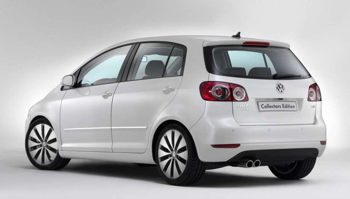 Volkswagen Golf Plus 2012 collectors edition posteriore