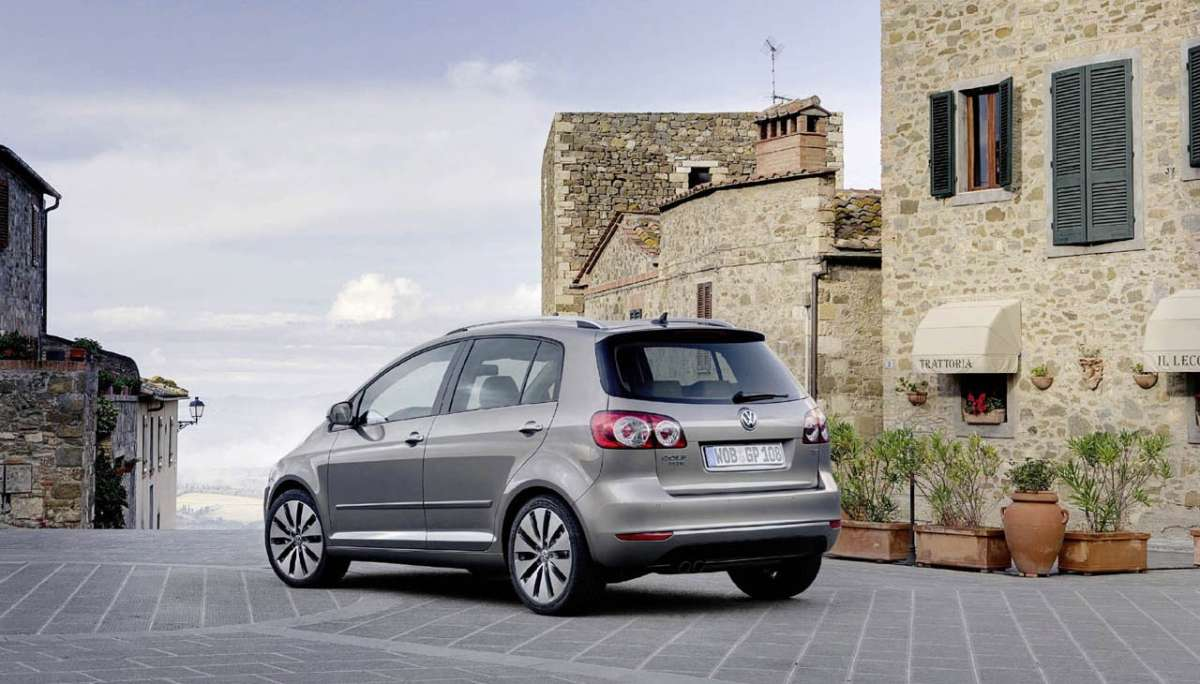 Volkswagen Golf Plus 2012 dietro