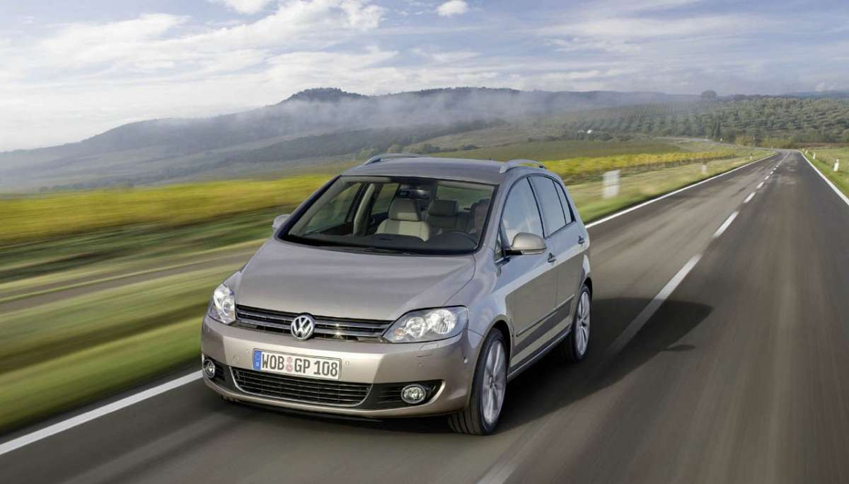 Volkswagen Golf Plus 2012 frontale