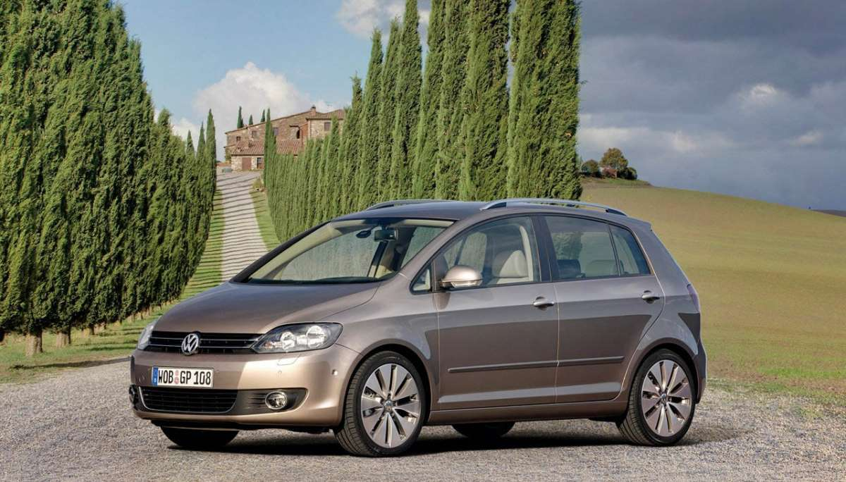 Volkswagen Golf Plus 2012 laterale anteriore