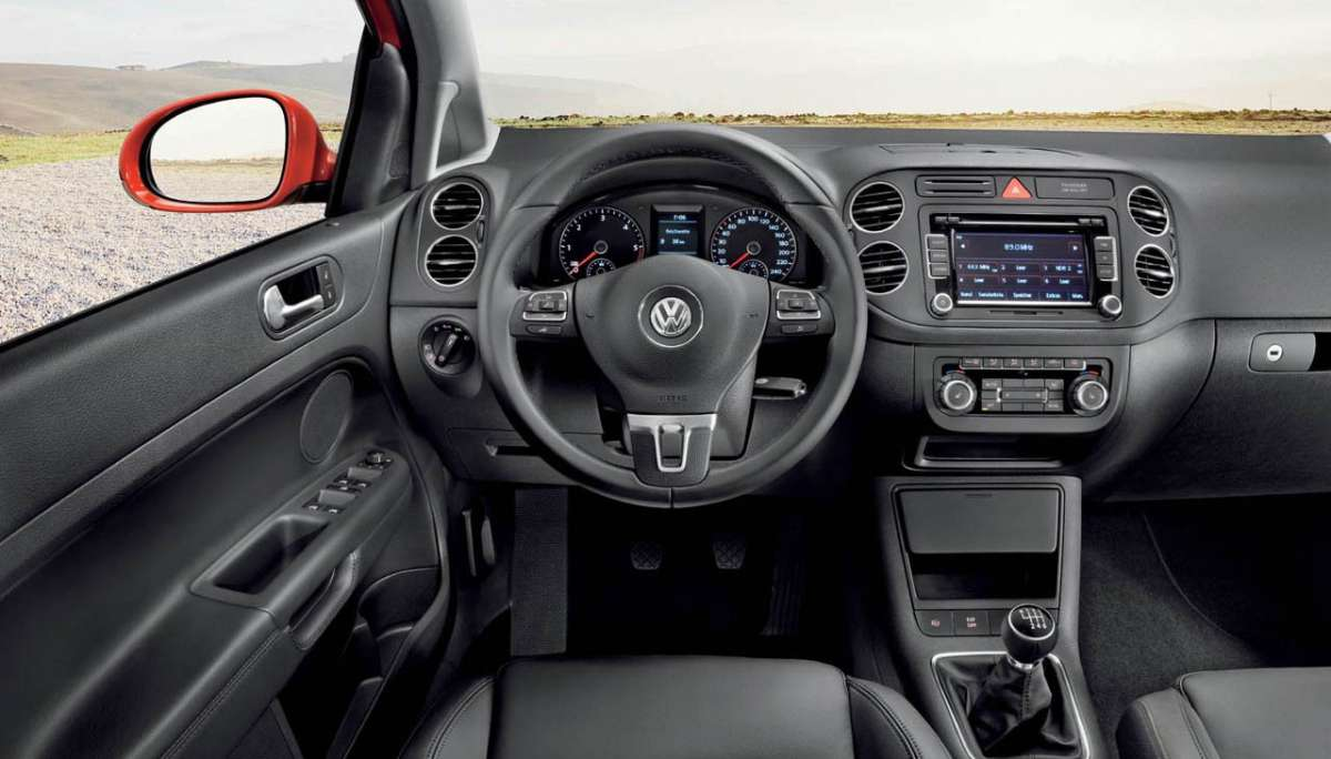 Volkswagen Golf Plus 2012 plancia