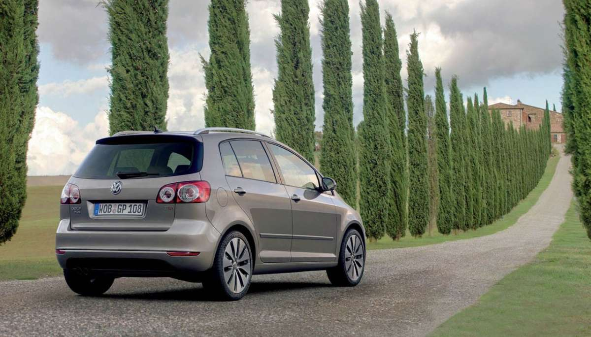 Volkswagen Golf Plus 2012 posteriore