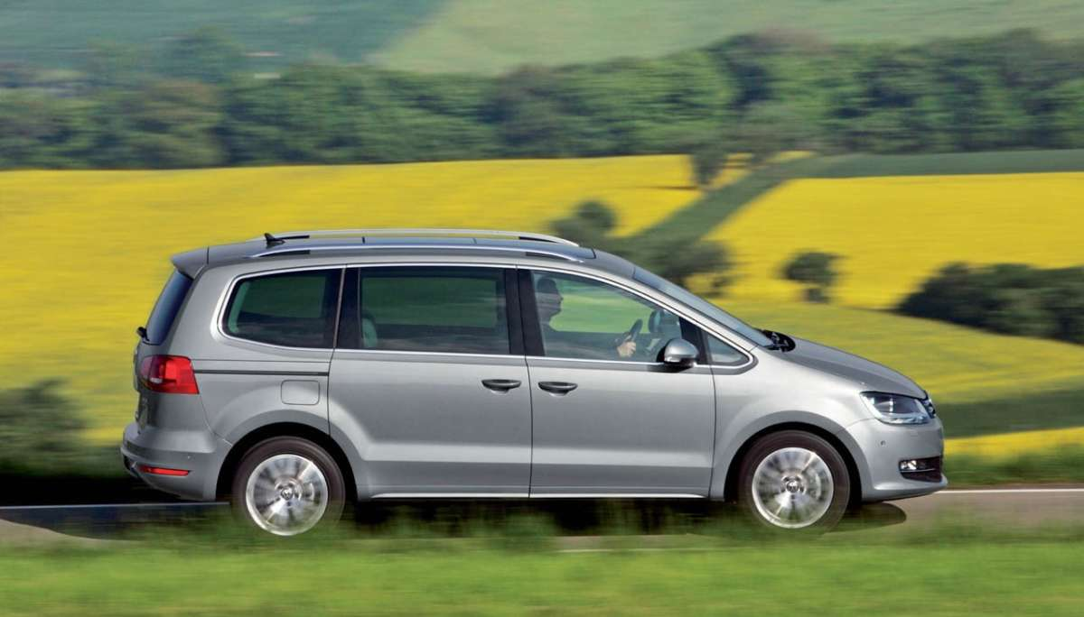 Volkswagen Sharan 2012 laterale