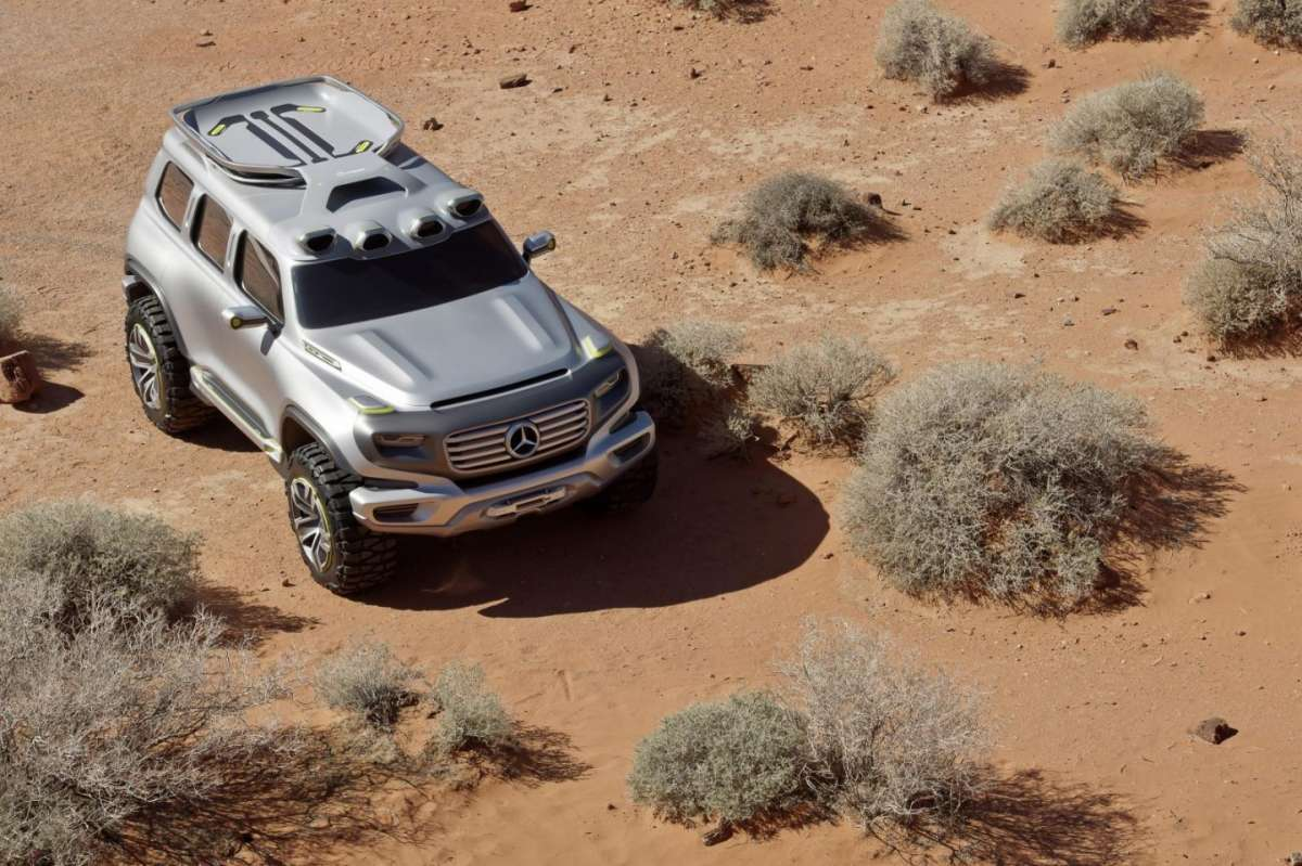 Mercedes-Benz Ener-G-Force frontale