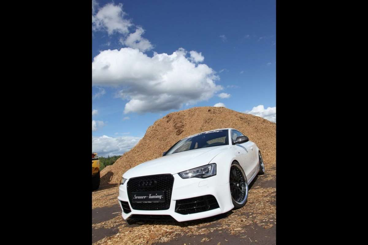 Senner Tuning Audi S5 frontale