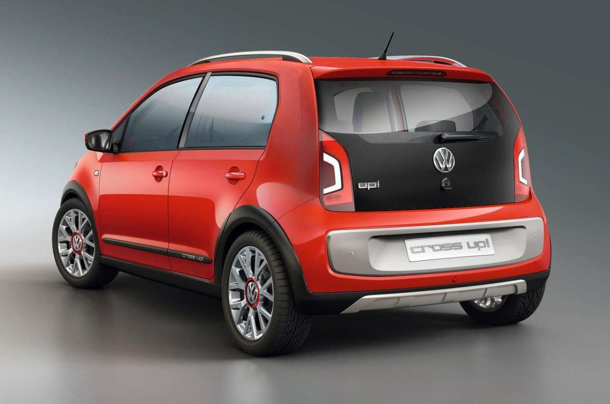 Volkswagen Cross-Up! dietro