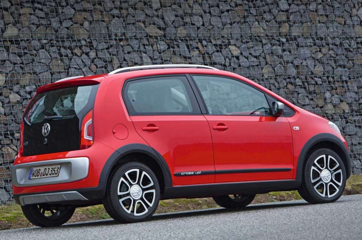 Volkswagen Cross-Up! laterale