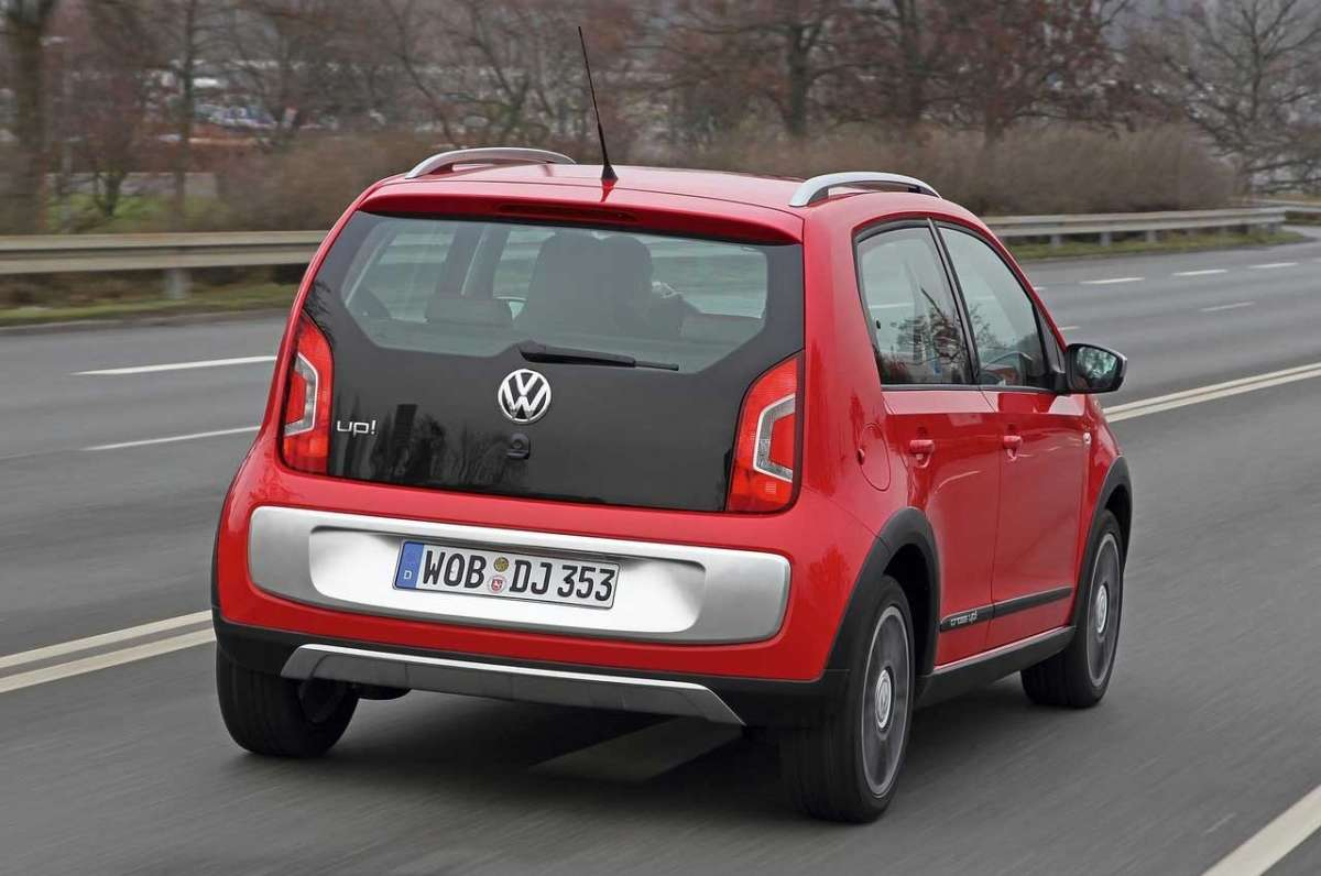 Volkswagen Cross-Up! posteriore