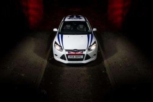 Ford Focus WTCC Limited Edition frontale (5)