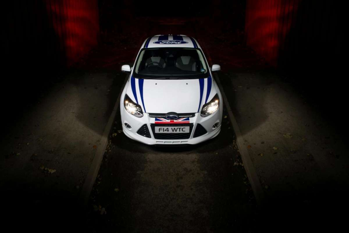 Ford Focus WTCC Limited Edition frontale