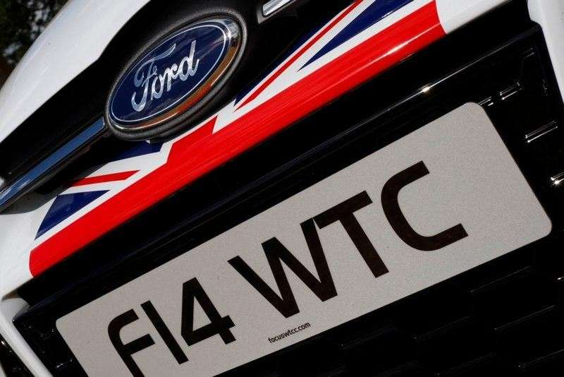 Ford Focus WTCC Limited Edition musetto