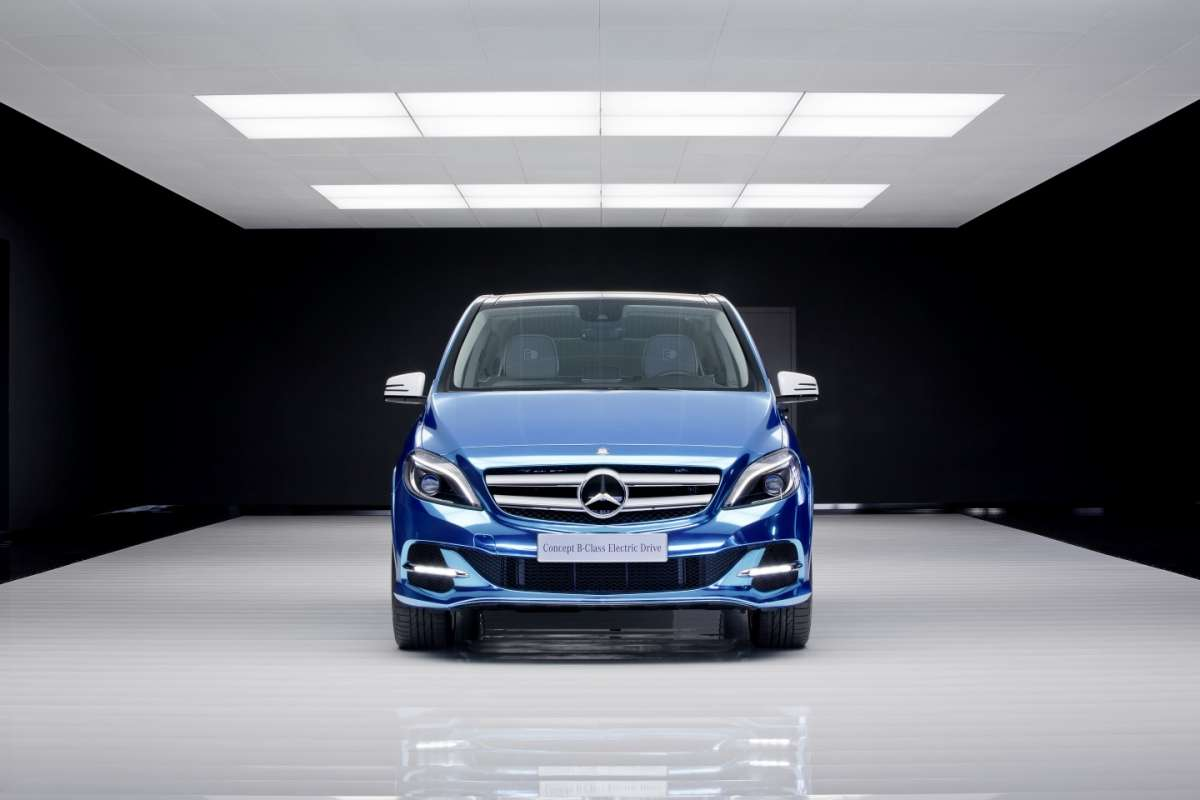 Mercedes-Benz Classe B Electric Drive frontale1