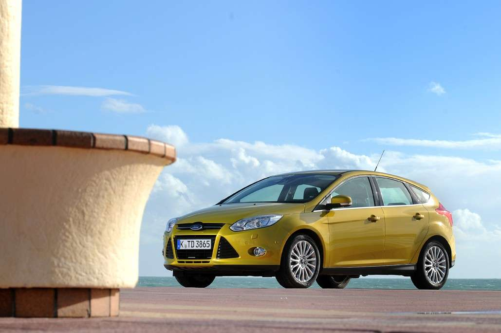 Ford Focus frontale