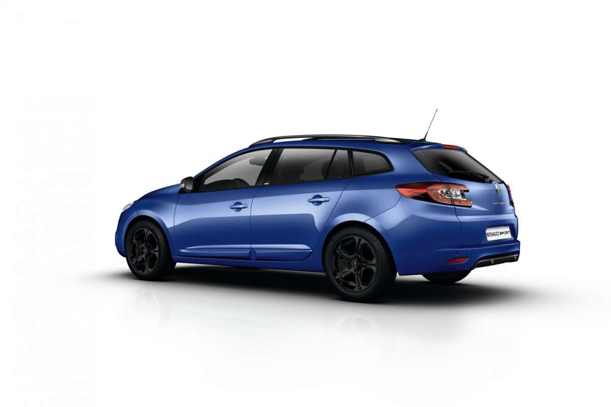 Renault Megane GT 220 station wagon, posteriore