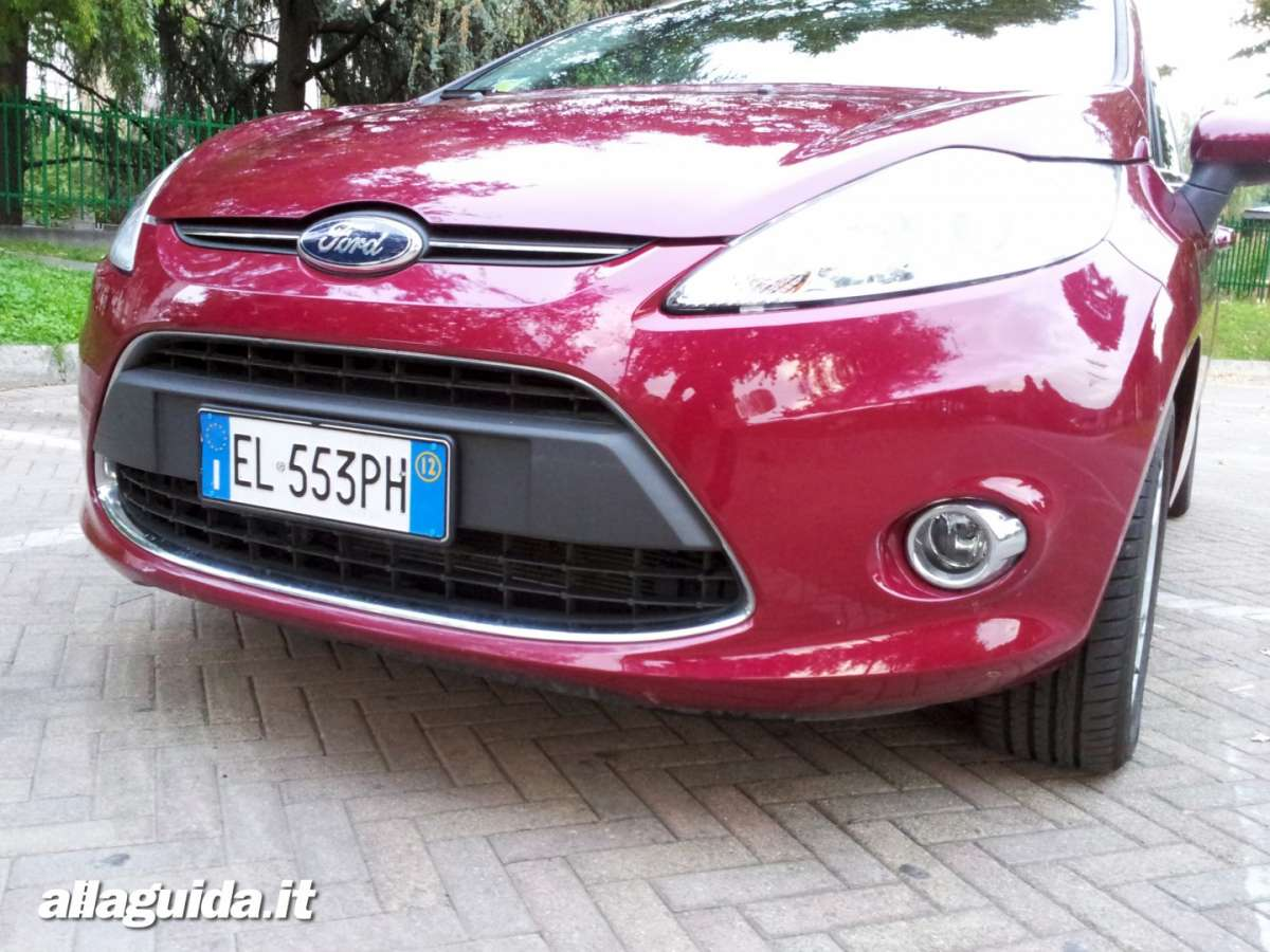 Ford Fiesta, mascherina