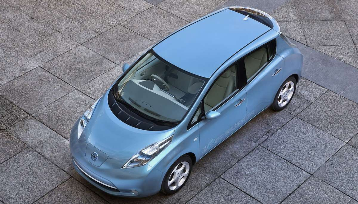 Nissan Leaf tetto